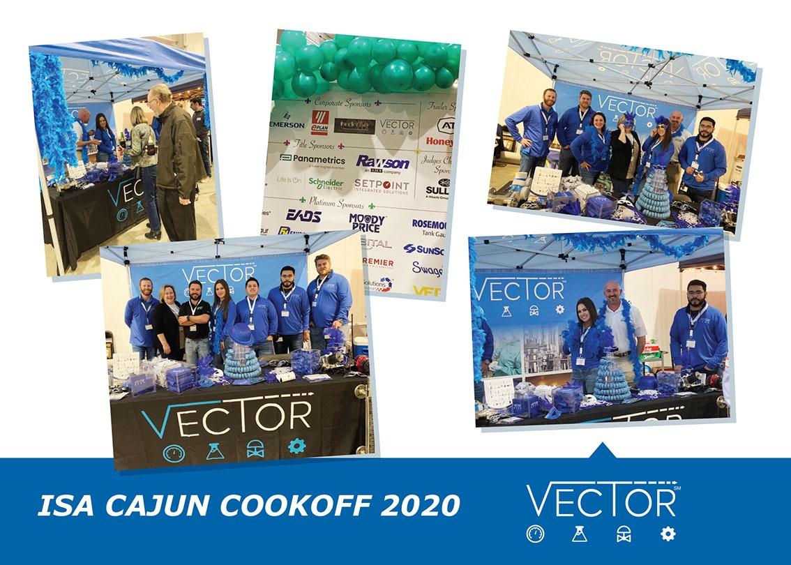 Vector CAG Event – ISA Cajun Cook Off