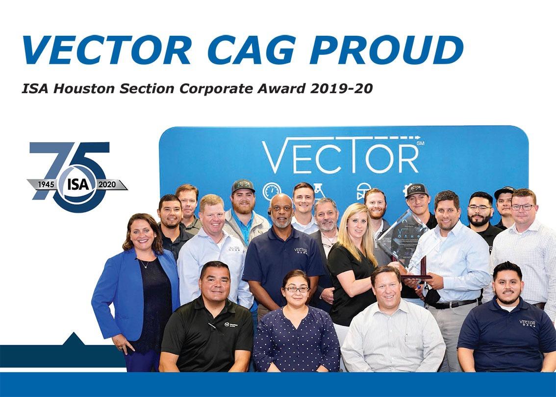 VectorCAG Team ISA Award