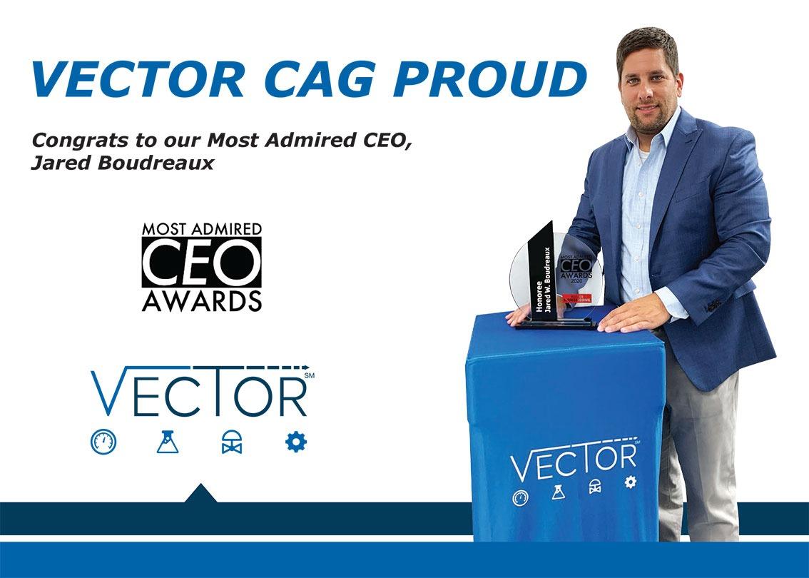 VectorCAG Jared CEO Award
